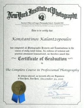 NYIP Certificate
