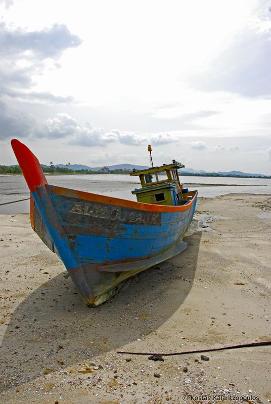 Langawi boat