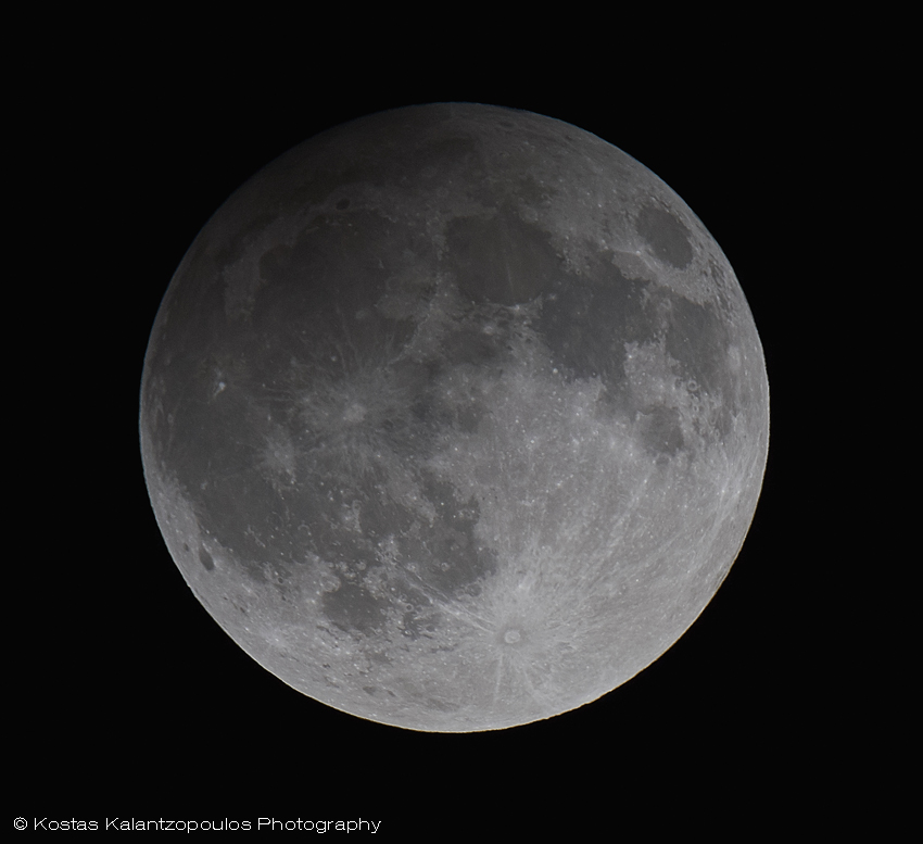 Penumbral Lunar Eclipse 16 Sep 2016